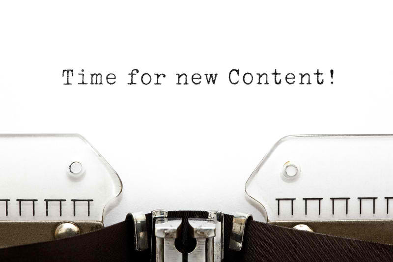 time for new content in semantic web