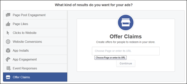 Facebook offer claims