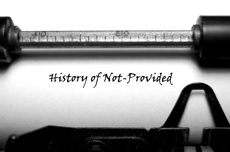 history of notprovided
