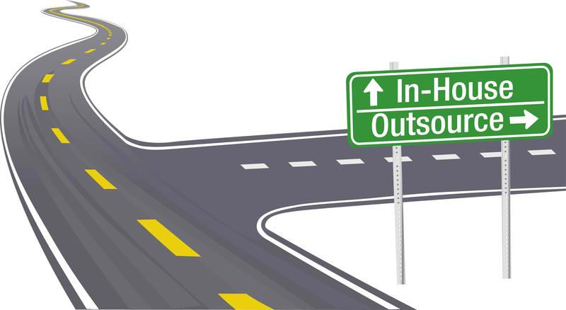 digital marketing inhouse vs outsource