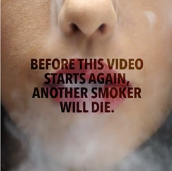 Saatchi anti smoking campaign