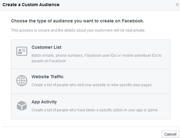 create custom audience 1