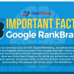The Top 8 Important Facts about Google RankBrain (Infographic)