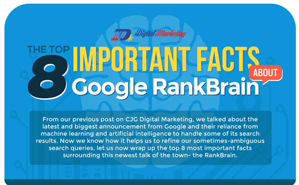 the top 8 important facts about google rankbrain infographic digital marketing philippines