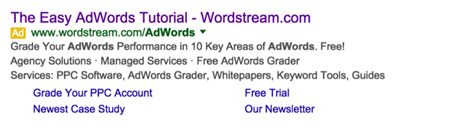 content promotion google adwords