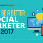 How to Be a Better Social Marketer in 2017 (Infographic)